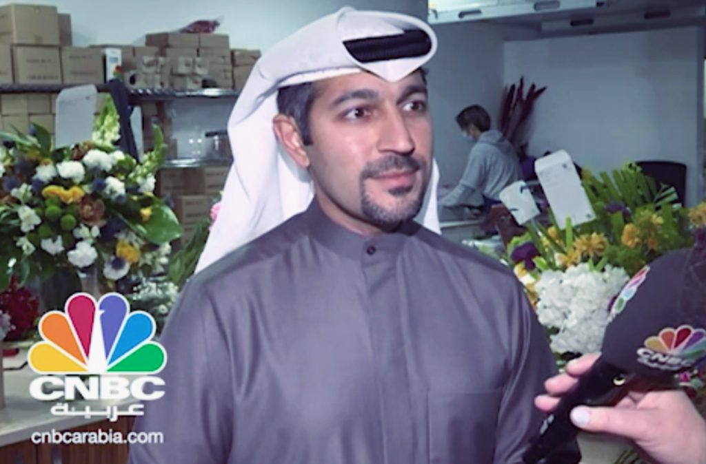 Floward CEO Abdulaziz Al Loughani discusses Floward and e-commerce with CNBC Arabia